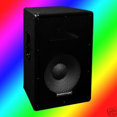 Six Star Dj MA-JR115 JR-115 COMPACT SINGLE 15 Inch TWO WAY PORTABLE LOUDSPEAKER