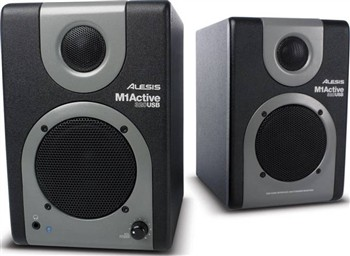 Alesis M1ACTIVE320USB USB Audio Speaker System with Audio Interface