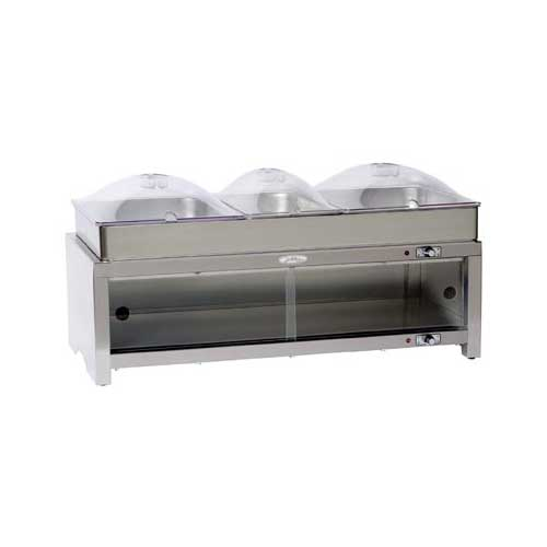 Broil King MLB-CSLP Family Size 3-PAN Buffet Warming Cabinet