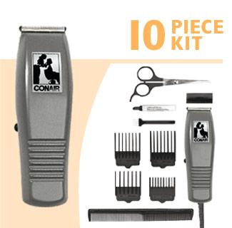 Conair HC90GB 10 Pieces Basic Hair Cut Kit