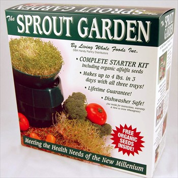 Victorio Kitchen Products SG.52 The Sprout Garden Complete Starter Kit