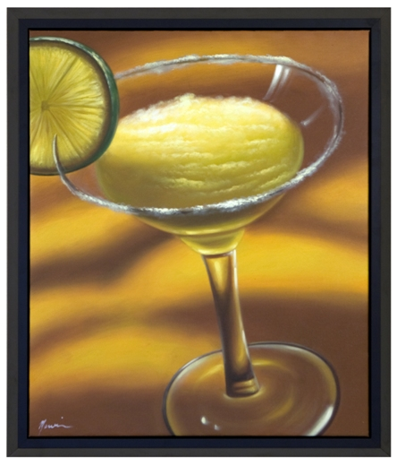 Artmasters Collection KM89835-P2020 Margarita Framed Oil Painting