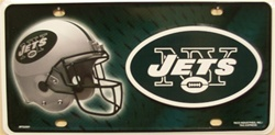 LP - 731 NY Jets NFL Football License Plate - 2201M