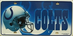 LP - 739 Indianapolis Colts NFL Football License Plate - 2601M