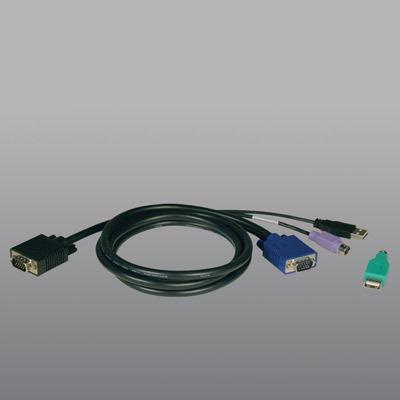 Tripplite P780-006 6 Foot PS2-USB KVM Cable Kit