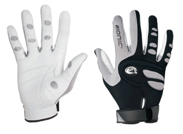 Bionic Glove RBMMR Men's Racquetball black-gray- Medium Right