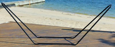 Bliss BHS-416 Bliss Hammock Stand With Black Powder Coating- Small