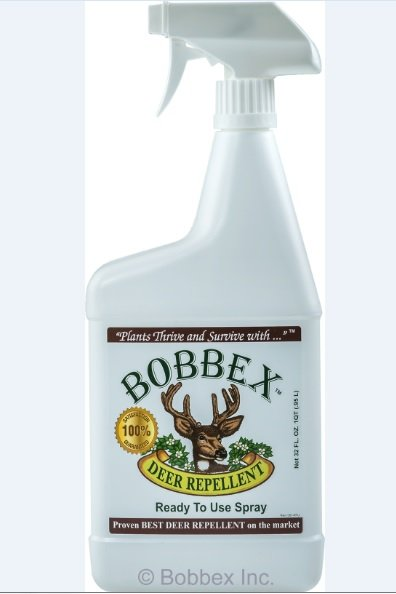 Bobbex B550110 Deer Repellant 32 oz Ready to use Bottle