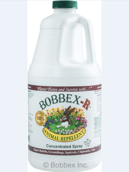 Bobbex-R B550130 Animal Repellant Concentrate .5 Gallon Bottle