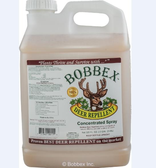 Bobbex B550160 Deer Repellant Concentrate 2.5 Gallon Bottle