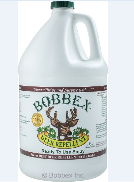 Bobbex B550200 Deer Repellant Ready to use Gallon Refill Bottle