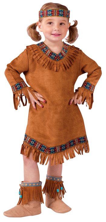 Costumes For All Occasions FW111021TS American Native American Girl Toddler 24M