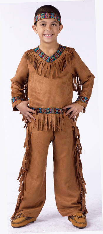 Costumes For All Occasions FW131022LG American Native American Boy Child  Large
