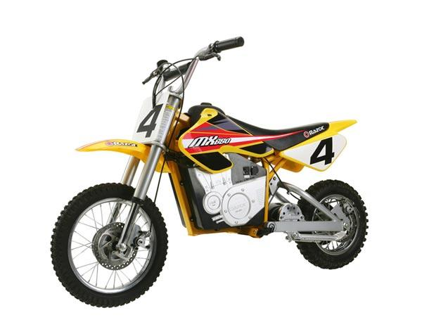 Razor 15165070 Dirt Rocket Electric Motocross Bike - Red Yellow