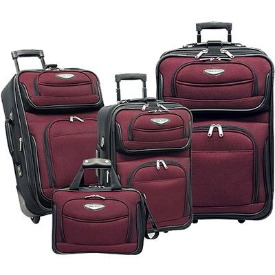 Travel Select TS6950R Traveler's Choice - Amsterdam 4pc Travel Collection