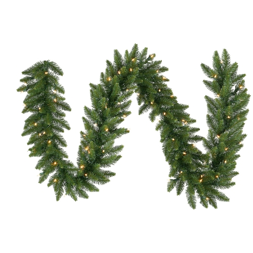 Vickerman A861106 9  x 12   Camdon Garland 240T 50CL Indoor-Outdoor