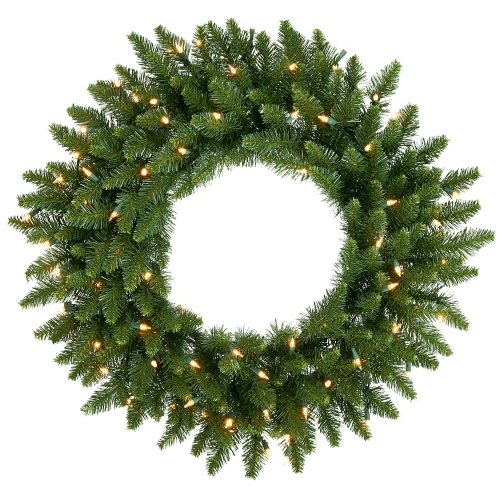 Vickerman A861025 24   Camdon Wreath 130T 50CL Indoor-Outdoor
