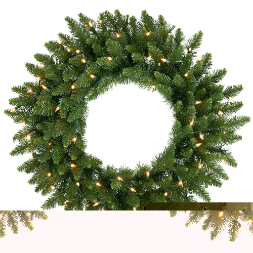 Vickerman A861031 30   Camdon Wreath 170T 100CL Indoor-Outdoor