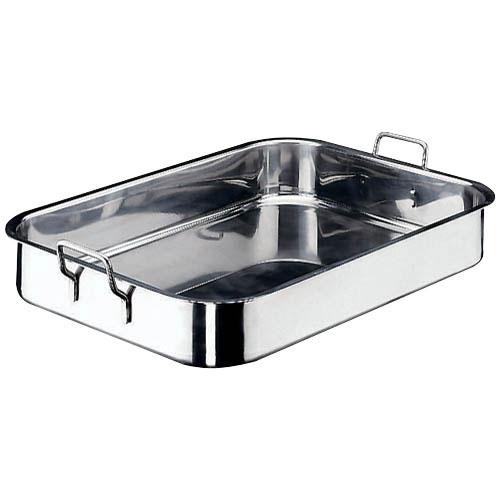World Cuisine 11943-61 Stainless Steel Roasting Pan