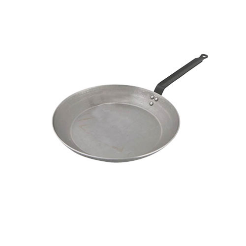 World Cuisine A4171426 Heavy Duty Carbon Steel Frying Pan - 10.25 Inches