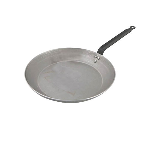 World Cuisine A4171432 Heavy Duty Carbon Steel Frying Pan - 12.5 Inches