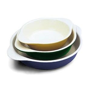 World Cuisine A1736121 Large 1.25 Qt Blue Round Dish