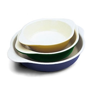 World Cuisine A1736214 Small .5 Qt Green Round Dish