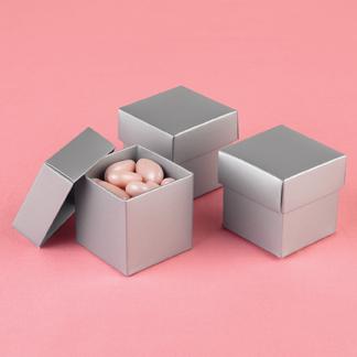 Hortense B. Hewitt 90209 Silver Shimmer Mix & Match Favor Boxes