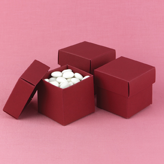 Hortense B. Hewitt 90216 Merlot Mix & Match Favor Boxes
