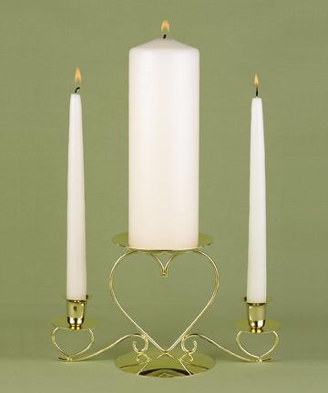 Hortense B. Hewitt 95095 Ivory Unity Candle Set