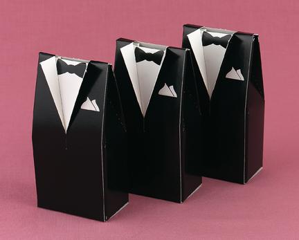Hortense B. Hewitt 28801 Tuxedo Favor Boxes