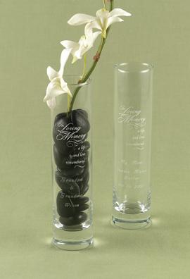 Hortense B. Hewitt 33550 In Loving Memory Bud Vase