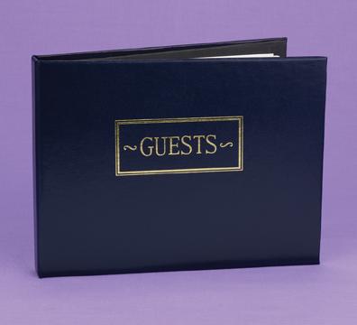 Hortense B. Hewitt 38932 Navy Small Guest Book