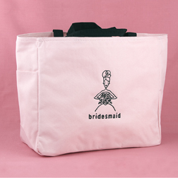Hortense B. Hewitt 56210 Bridesmaid Pink Tote