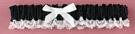 Hortense B. Hewitt 73002 Black Ribbon & Lace Garter