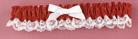 Hortense B. Hewitt 73004 Red Ribbon & Lace Garter