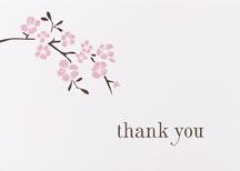Hortense B. Hewitt 77311 Cherry Blossom Thank You Cards