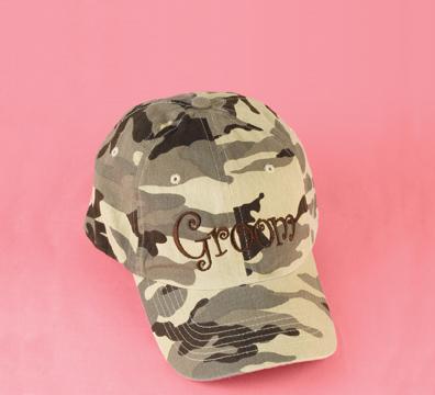Hortense B. Hewitt 82114 Desert Groom Camouflage Cap