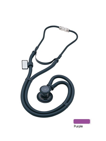 MDF Instruments MDF76708 Sprague Rappaport Stethoscope -Purple