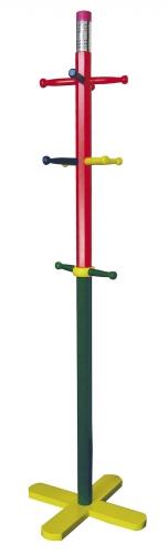 Ore International JW-101P Kid's Coat Rack - Pencil style