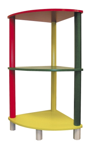 Ore International H-59A Kids  3-Tier Corner Shelf