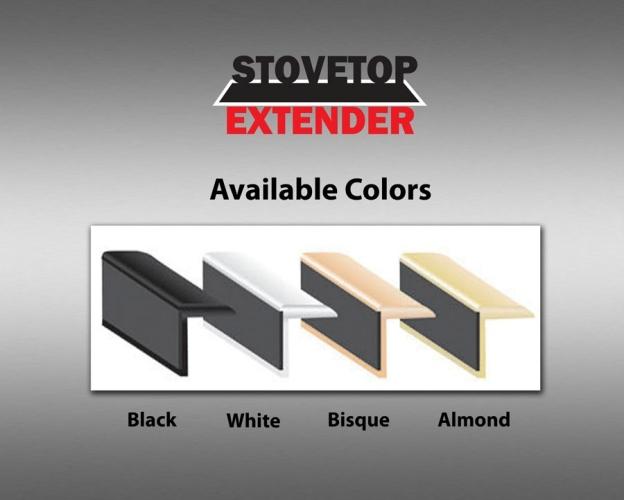 Stovetop Extender SE23BL 23 Inch Stovetop Extender - Black