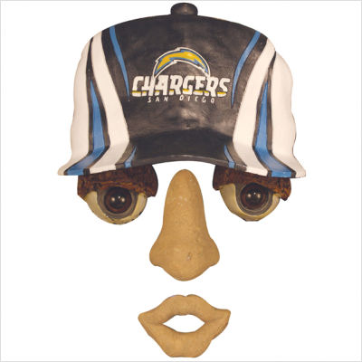 Team Sports America NFL0083-827 14  x7   Forest Face- San Diego Chargers