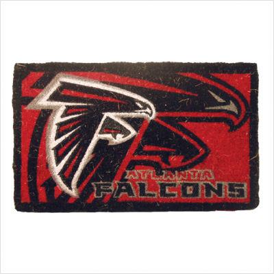 Team Sports America NFL0007L-823 18  x30  Welcome Mat Bleached-Atlanta Falcons