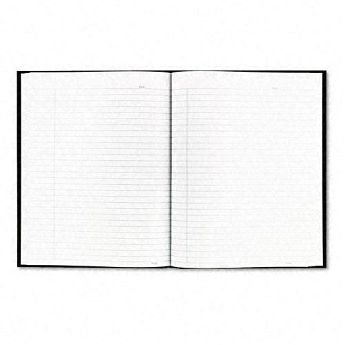 Blueline Business Notebooks Black 9.25x7.25 192 Sht Ruled A9