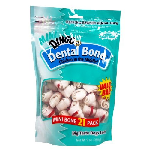 Dingo Brand Dental Mini Vp Treat 21p Extra Small - P26016