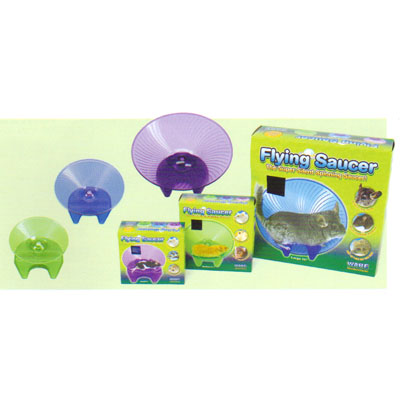 Ware Container Flying Saucer Toy Blue Small - 03281