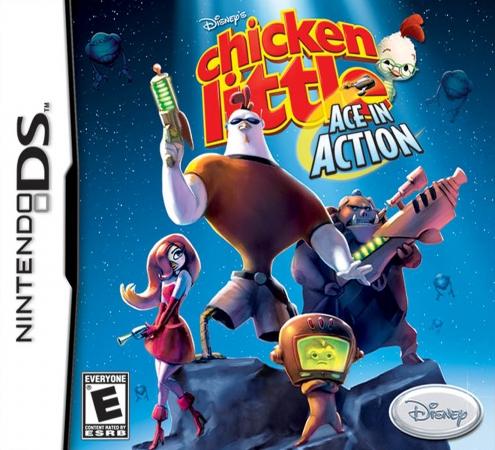 Buena Vista Games 103524 Chicken Little- Ace in Action