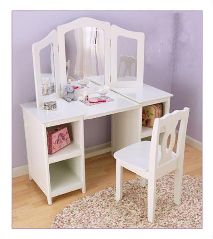 KidKraft 13018 Deluxe Vanity & Chair