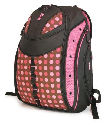 Mobile Edge MEBPEX2 Women's Express Backpack- Polka Dot